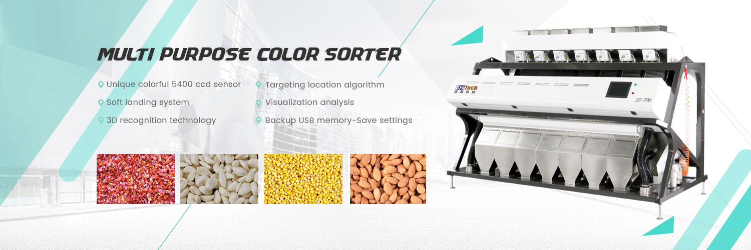 pulses lentils color sorter machine
